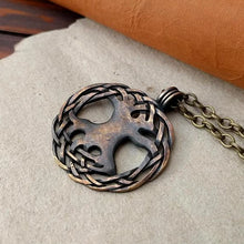 Load image into Gallery viewer, Viking Norse Yggdrasil Tree of Life Pendant Necklace