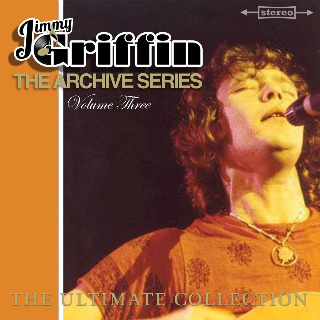Jimmy Griffin The Archive Series Volume Three - Digital Download