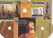Jimmy Griffin The Archive Series BOX SET    Volumes:  One - Two - Three and Four  Compact Discs