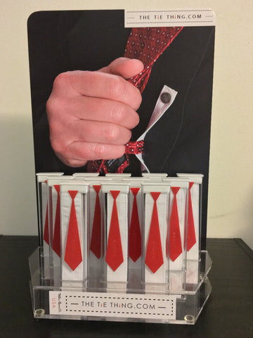 The Tie Thing ® Point-Of-Purchase [POP] Retail Display Kit
