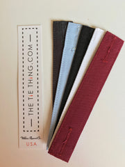 White, Burgundy, Black, Medium Blue, Charcoal No Tube
