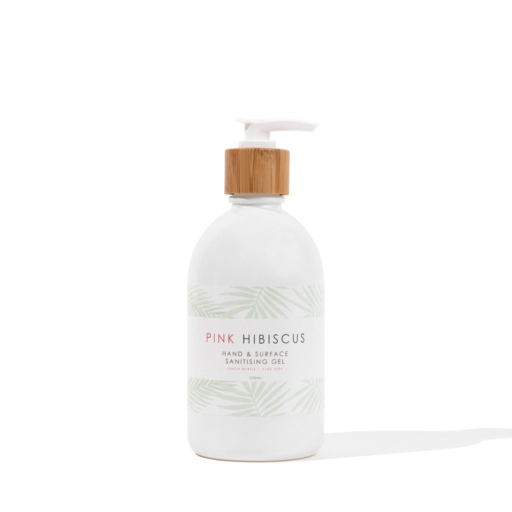 Pink Hibiscus Hand & Surface Sanitising Gel - 250mL