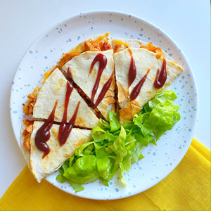 Chipotle Honey BBQ Quesadilla - Vitality Fit Kitchen