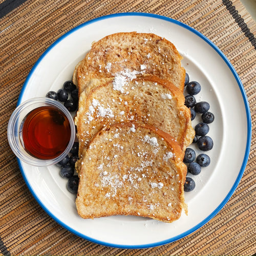 Cinnamon Protein French Toast