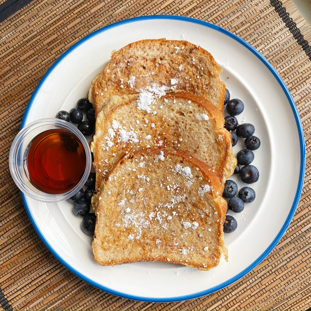 Cinnamon Protein French Toast - Vitality Fit Kitchen