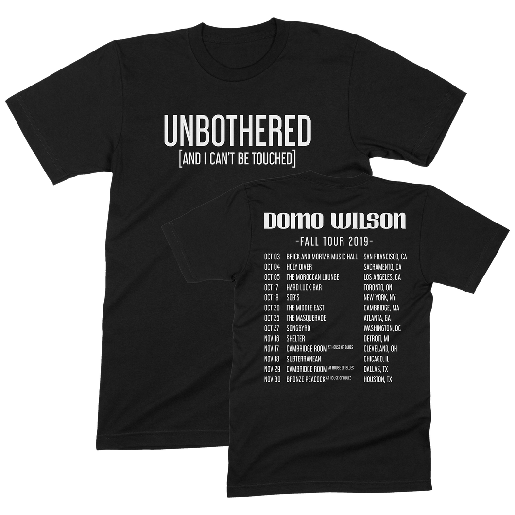 Unbothered Tour Shirt