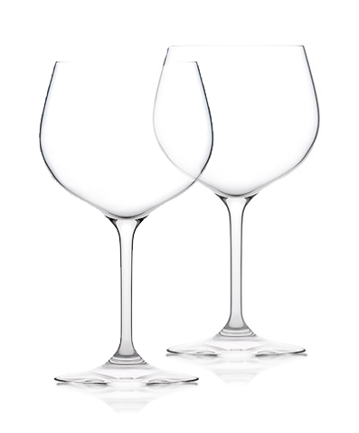 Plumm Crystal Gin Glasses x 2