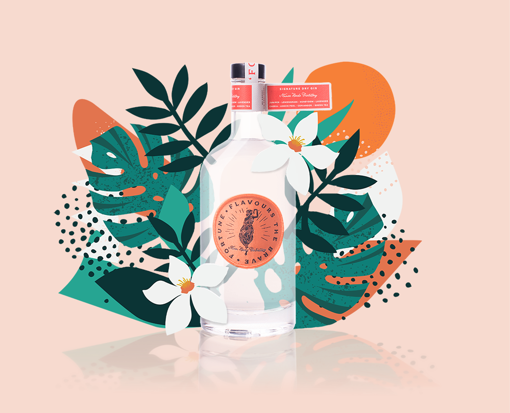 August's Gin - Fortune Signature Dry Gin