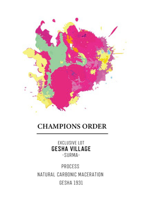 CHAMPIONS ORDER Vol.5 EXCLUSIVE LOT -GeshaVillage-