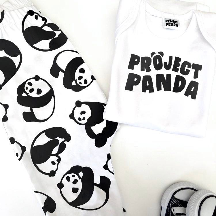 Adult Project Panda Short Sleeve Tee - Project Panda Kids
