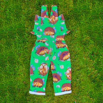 Hedgehog Frill Jumpsuit - Project Panda Kids