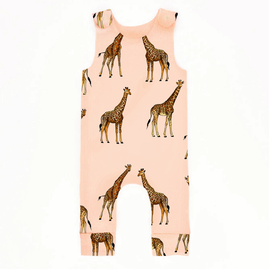 Giraffe Romper - Project Panda Kids