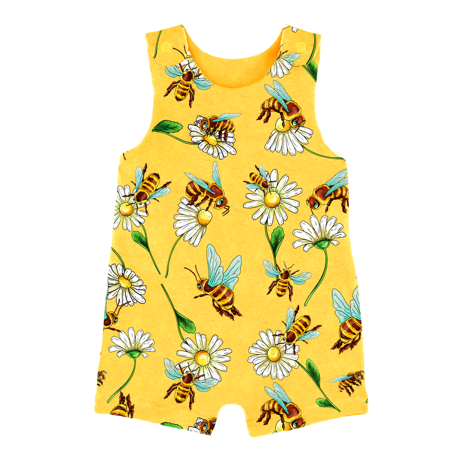 Honey Bee Short Romper