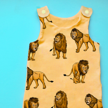 Lion Romper - Project Panda Kids