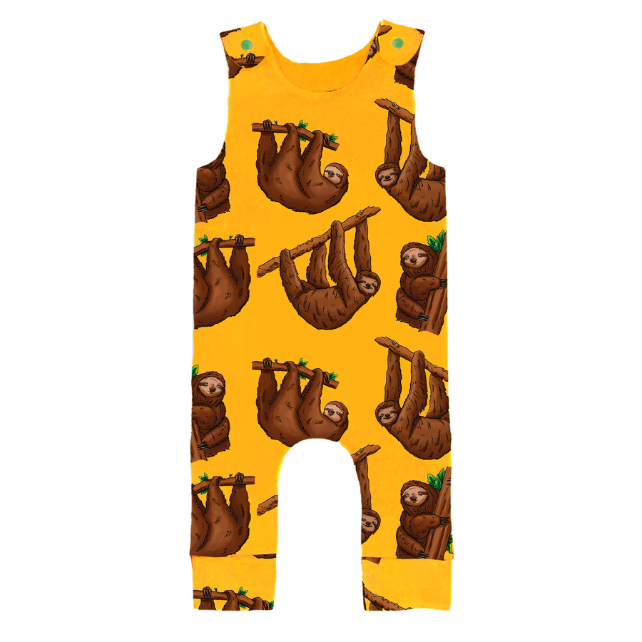 Sloth Romper - Project Panda Kids