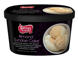 Almond Sundae Cake - (4 PACK) 48oz CARTONS