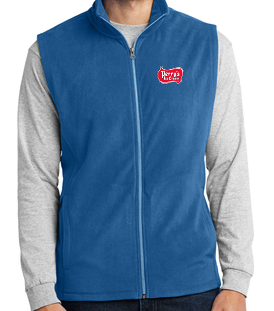 Perry's Ice Cream Microfleece Vest (2 Colors Available)