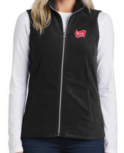Perry's Ice Cream Women's Microfleece Vest (2 Colors Available)