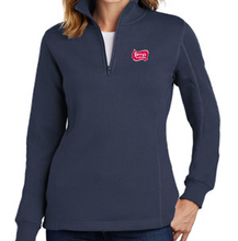 Load image into Gallery viewer, Perry's Ice Cream Women's 1/4 Zip Sweatshirt (4 Colors Available)