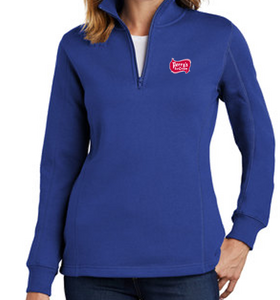 Perry's Ice Cream Women's 1/4 Zip Sweatshirt (4 Colors Available)