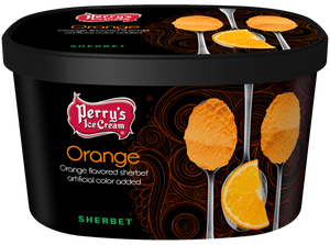 Orange Sherbet - (4 PACK) 48oz CARTONS