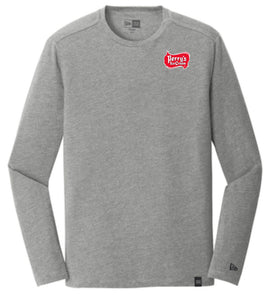 New Era® Heritage Blend Long Sleeve Crew T-Shirt (2 Colors Available)