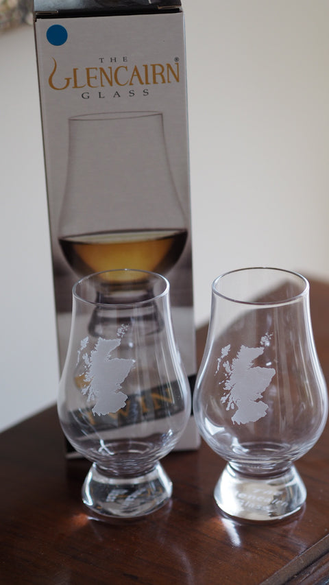 Twin Scotland tasting glasses