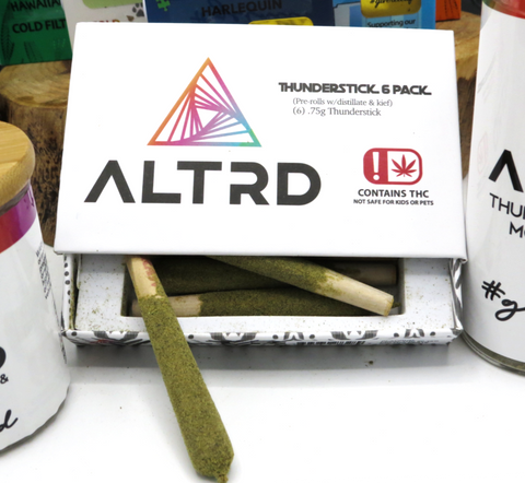 ALTRD - Platinum - 0.75g Thundersticks - 4.5g / 6 Pack