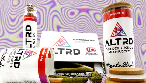 ALTRD - EF2  - Thundersticks & Moonrock - 2.5g / 2 Pack Platinum
