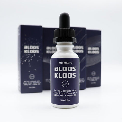 Mr. Mack's - Bloos Kloos - 1000mg Tincture - 200mg THC - 800mg CBD