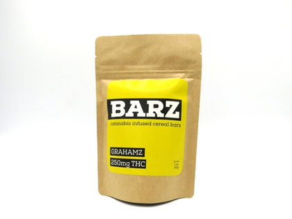 BARZ - Grahamz - 250mg Cereal Bar