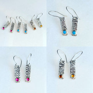 Abstracted Nature Earrings