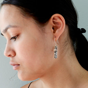 Moonscape Rectangle Earrings
