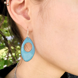 Teardrop Deco Earrings