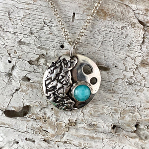 Moonscape Crater Necklace