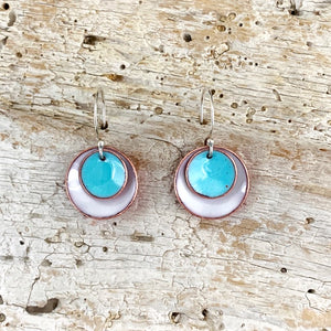 Candy Drop Enameled Earrings
