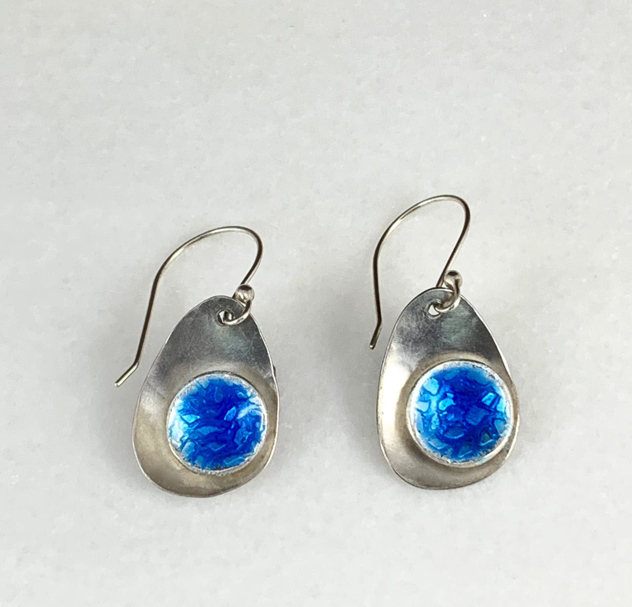 Orbit Enameled Earrings