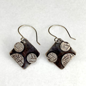 Rebels Diamond & Dots Earrings