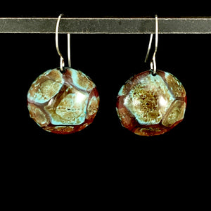 Kaleidoscope Circle Earrings