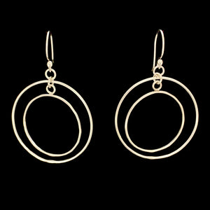 Freedom Circle & Square Earrings