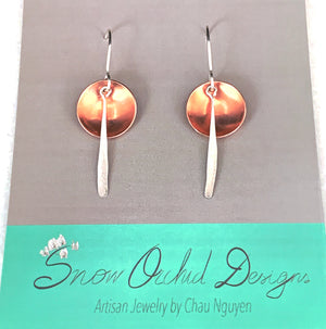 Thinking of You Circle Earrings