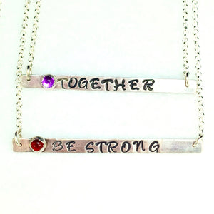 Intention Bar Necklace