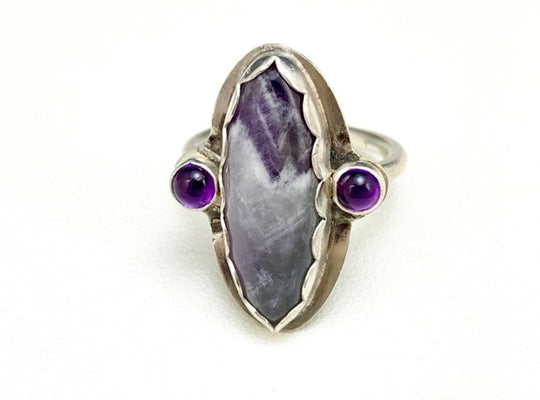 Amethyst Marquise Decorative Ring