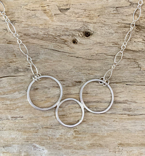 Unity Three Circles Necklace