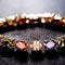 Splendid Rose Gold Toned Swiss CZ  Crystal Bracelet - Yellow Chimes