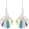 925 Sterling Silver Swarovski Crystals Earrings - Yellow Chimes