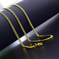 Classic Stainless Steel Golden Chain - Yellow Chimes