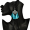 Trendy Fabric Fashion oxidised Silver Tassel Earring - Yellow Chimes