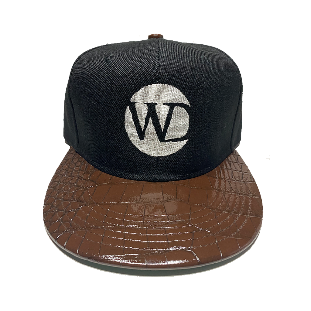 Crocodile Snapback Hat