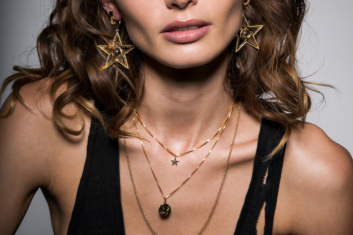 How to wear Jewellery by F+H Designer Sharona Harris